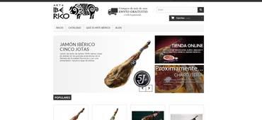Cliente Web Arte Ibérico