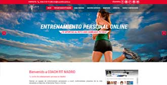 Cliente web: Coach Fit Madrid
