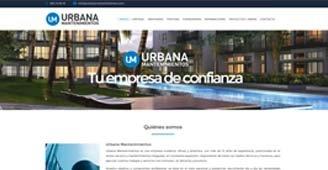 Cliente web: Urbana Mantenimientos