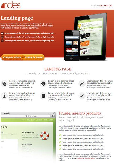 Saber más de la Landing Page