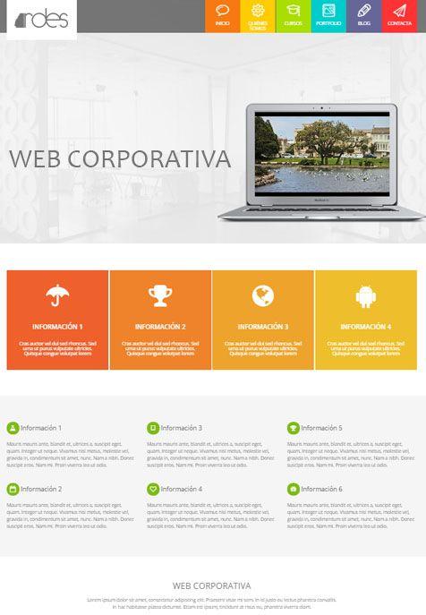 Saber más de la Web Corporativa