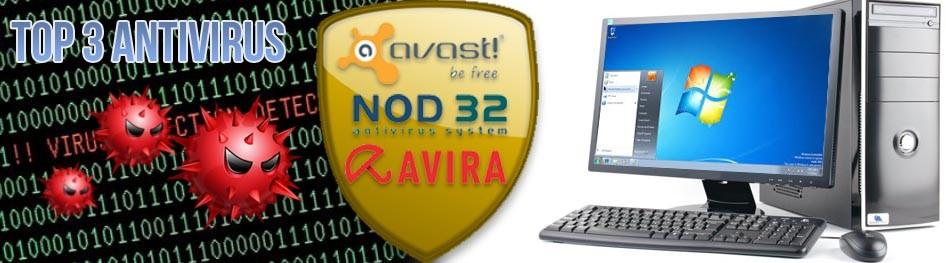 TOP 3 Antivirus