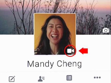 Cambiar foto estática por video de perfil